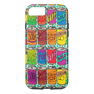 Soda Pop Cans iPhone 8/7 Case