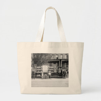 Soda Pop Delivery Truck, early 1920s Large Tote Bag