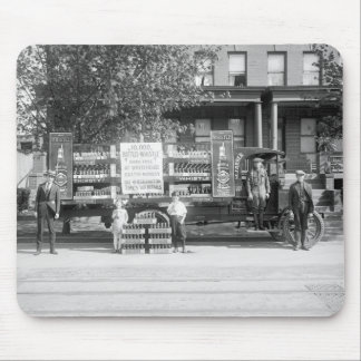 Soda Pop Delivery Truck, early 1920s Mouse Pad