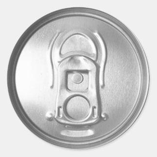 Soda Pop Lid Classic Round Sticker