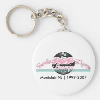 Soda Pop Shop Keychain
