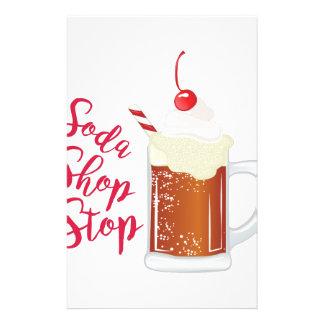 Soda Shop Stop Stationery