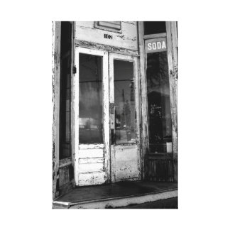 Soda Shoppe Canvas Print