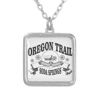 soda spring idaho silver plated necklace