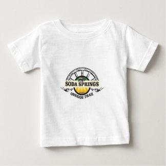 soda springs oregon trail art baby T-Shirt
