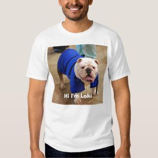 SodaroBulldogs.com, Hi I'm Loki T Shirt
