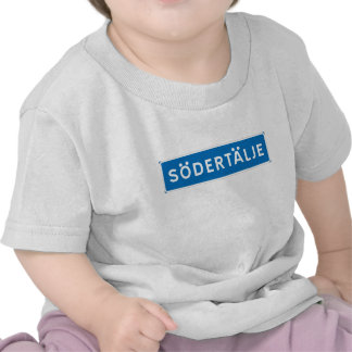 Sodertalje Swedish road sign Tee Shirt