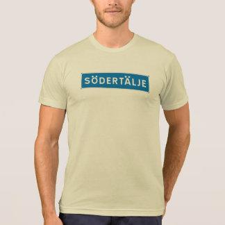 Sodertalje Swedish road sign Tshirts