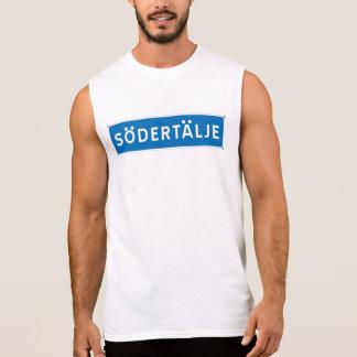 Sodertalje Swedish road sign Sleeveless Shirt