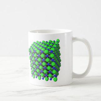 Sodium Chloride Molecular Model Coffee Mug
