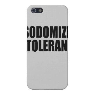 Sodomize intolerance  iPhone 5 cover