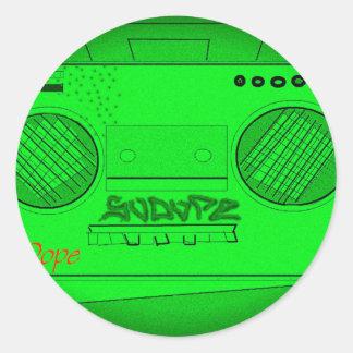 SoDope8 Classic Round Sticker
