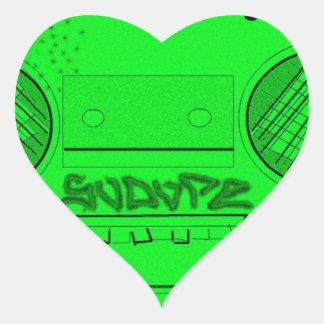 SoDope8 Heart Sticker