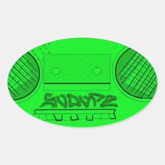SoDope8 Oval Sticker