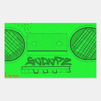 SoDope8 Rectangular Sticker