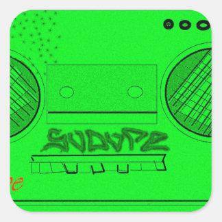 SoDope8 Square Sticker
