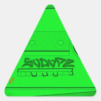SoDope8 Triangle Sticker