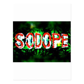 SoDOPE 2 Postcard