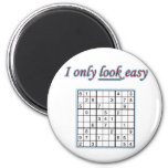 Soduku - I Only LOOK Easy Magnet