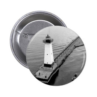 Sodus Outer Lighthouse 2 2 Inch Round Button