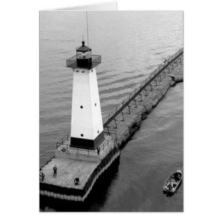 Sodus Outer Lighthouse 2 Greeting Card