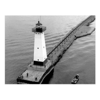 Sodus Outer Lighthouse 2 Postcard