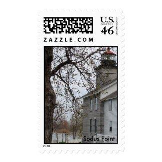 Sodus Point stamp