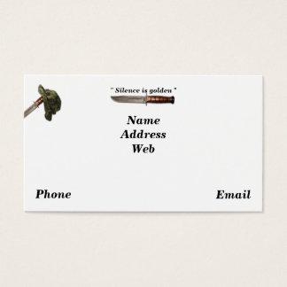 Sof del lrrp de los lrrps de los guardabosques de tarjetas de visita