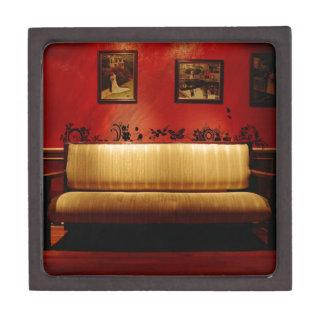Sofá artístico fino diario abstracto caja de regalo de calidad