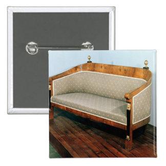 Sofa, Biedermeier style, c.1820 Pins