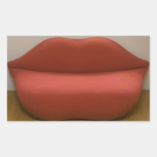 Sofá del labio rectangular altavoz