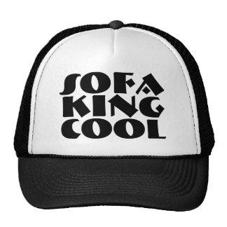 Sofa King Cool funny college fun girls guys men Tr Trucker Hat