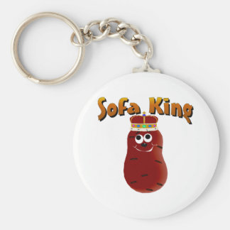 Sofa King Couch Potato Keychain