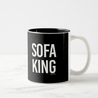 Sofa King -   Guy Fitness -.png Two-Tone Coffee Mug