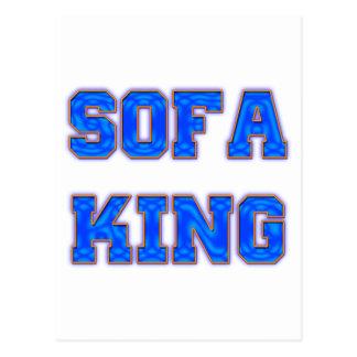 Sofa King Postcard