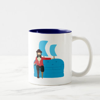 Sofa Pirate Coffee Mugs