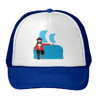 Sofa Pirate Hats