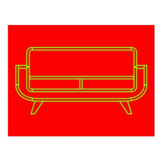 Sofa - Sofas - Couch - Davenport Postcard