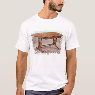 Sofa table with harp legs by Thomas T-Shirt
