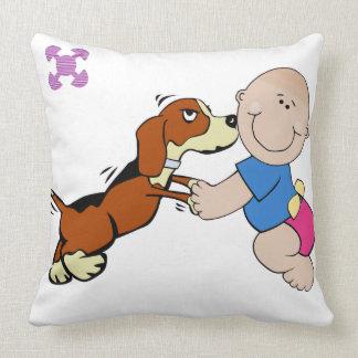 Sofa Throw Pillows - Adinkra Symbol Of Friendship
