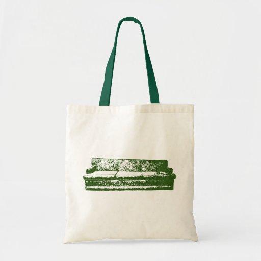sofá verde bolsa tela barata