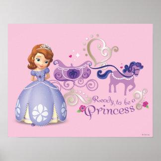 Sofía: Aliste para ser una princesa Posters