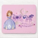 Sofía: Aliste para ser una princesa Alfombrillas De Raton