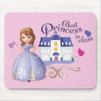 Sofia: Best Princess in Class Mouse Pads