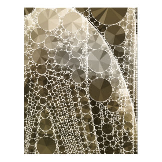 Sofia Bling Abstract Pattern Letterhead