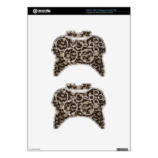 Sofia Cheetah Texture Xbox 360 Controller Skins