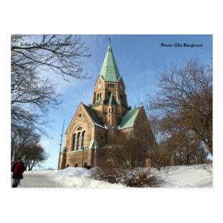 Sofia Church, Stockholm, Photo O... Postcard