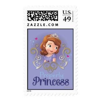 Sofía: Correctamente princesa Timbres Postales