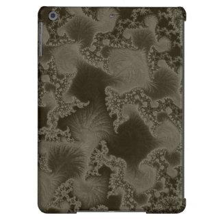 Sofia Dark Brown Fractal iPad Air Cases