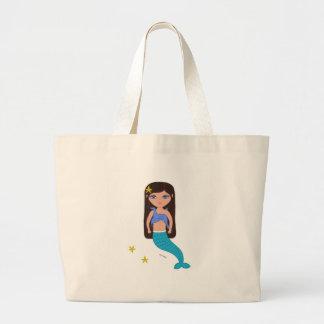 Sofía el bolso de la playa de la sirena bolsa de mano